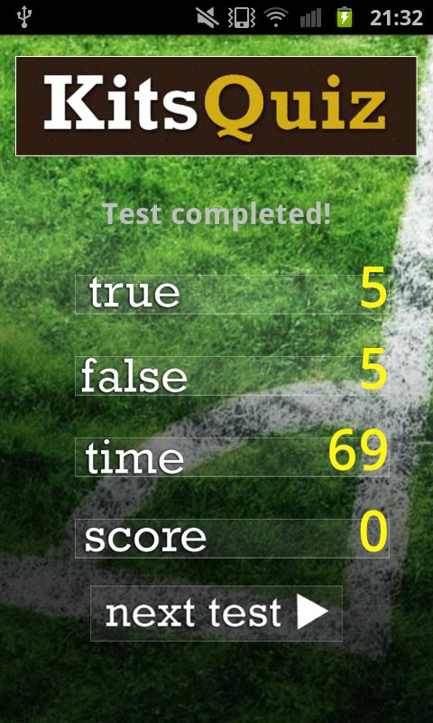 Legendary Footballers Quiz - screenshot