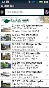 buckslib.org Mobile- screenshot thumbnail