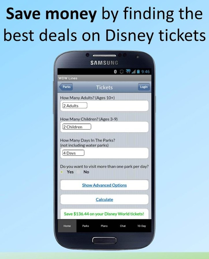 Screenshots of Disney World Lines for iPhone