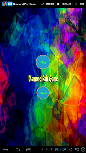 Diamond Pair Game