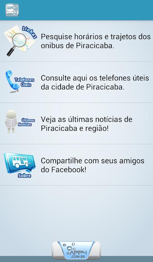 Onibus Piracicaba - screenshot