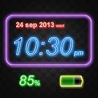 Digital Clock at Live Wall icon