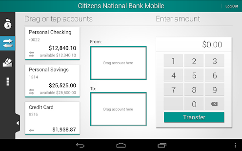 Citizens National Bank Mobile - screenshot thumbnail