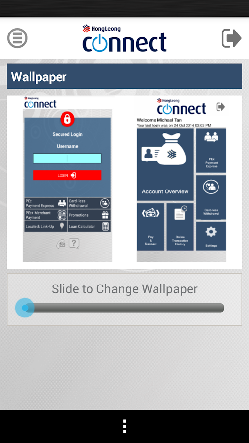 Hong Leong Connect Malaysia - screenshot