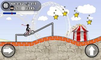 Screenshot of BMX STUNTS