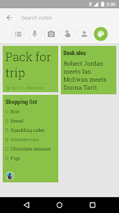 Google Keep: notas y listas - screenshot thumbnail