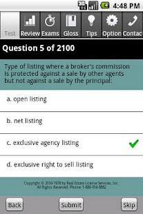 Real Estate Broker Exam Pro- screenshot thumbnail