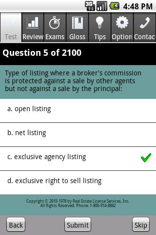 Real Estate Broker Exam Pro- screenshot