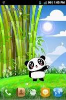 Screenshot of Panda Pet Live Wallpaper Free