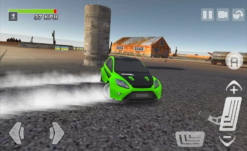 Driftkhana Free Drift Lite- screenshot thumbnail