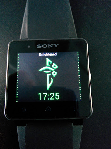 Ingress Clock for SmartWatch 2
