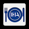 IHA Kantine Menu logo