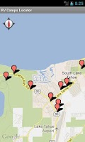 Screenshot of RV Camps Locator - Pro