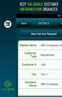 RazorSync Mobile Field Service- screenshot thumbnail