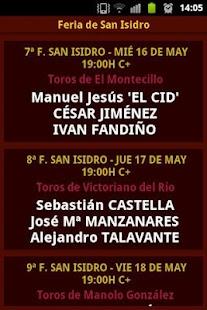 Feria de San Isidro - screenshot thumbnail