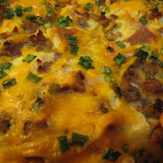 Egg Breakfast Casserole Without Bread Recipes.