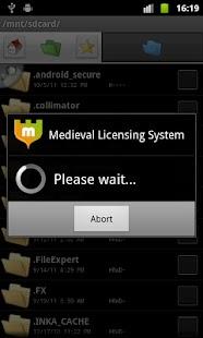 Medieval Licensing System - screenshot thumbnail
