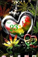 Screenshot of REGGAE LOVE+PEACE LiveWallpape