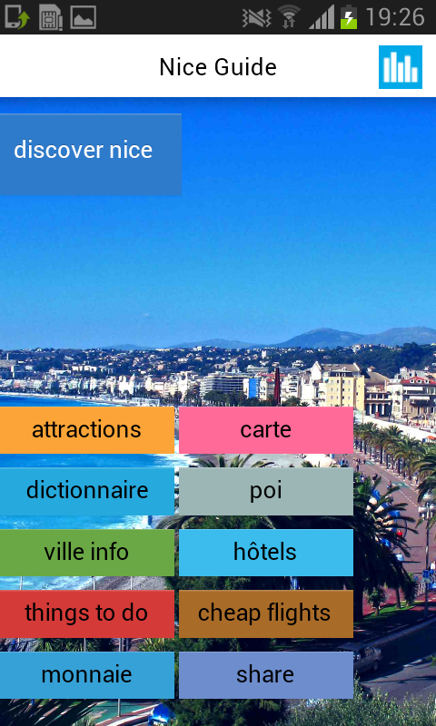 Nice Offline Map Guide Hotels- screenshot