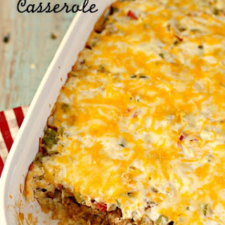 John Wayne Casserole (Beef and Biscuit Casserole)