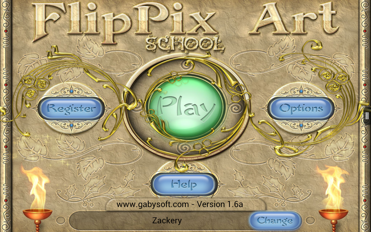FlipPix Art - School- screenshot