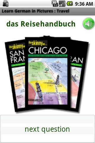 German in Pictures: Trip Trial- screenshot