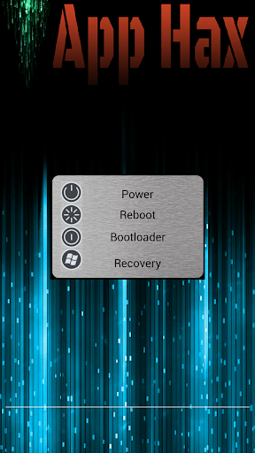 Advanced power menu root