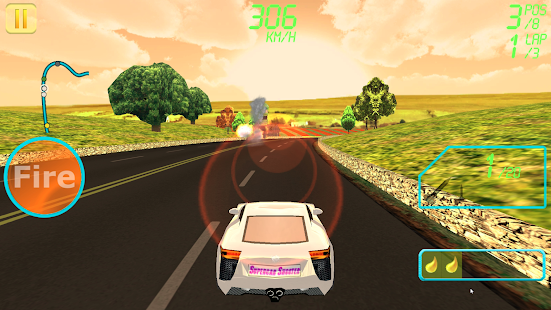 Supercar Shooter : Death Race- screenshot thumbnail