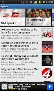 KOB 4 Albuquerque, New Mexico - screenshot thumbnail