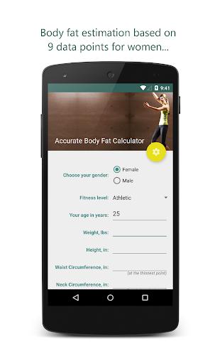 Accurate Body Fat Calculator