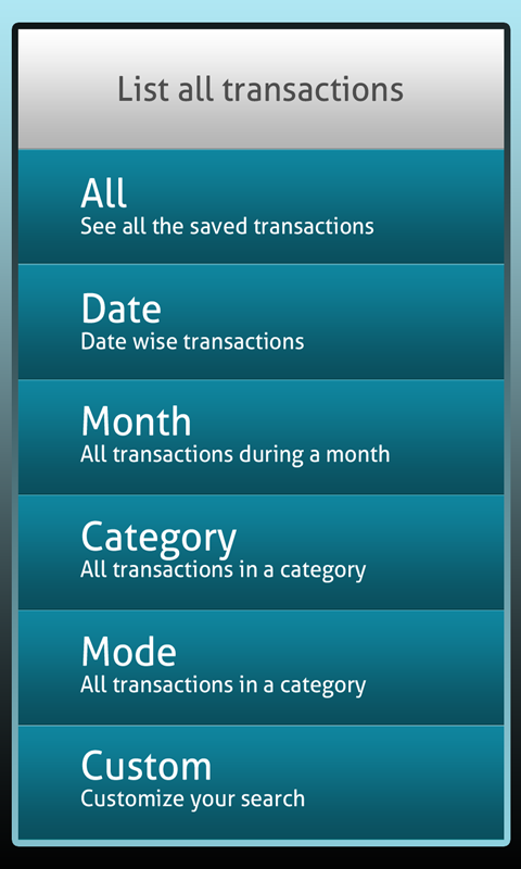 Daily Expense Manager - screenshot