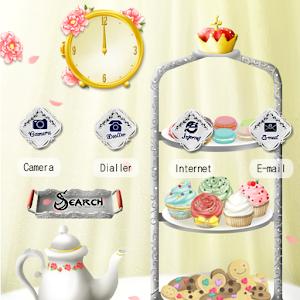CUKI Theme Afternoon Tea 娛樂 App LOGO-APP試玩