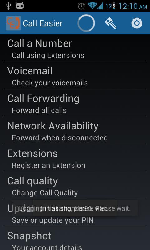 Call Easier- screenshot