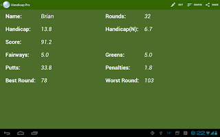 Screenshot of Handicap: Golf Tracker Pro