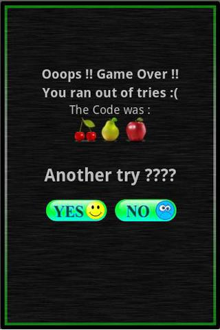 Code Breaker Free - screenshot