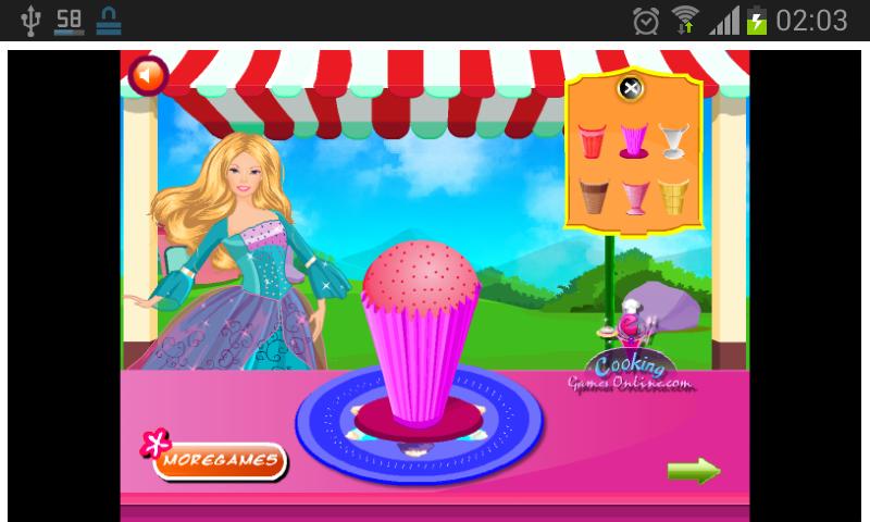 Jogos de Cozinhar - screenshot