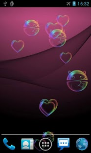 Bubble Pro Live Wallpaper- screenshot thumbnail