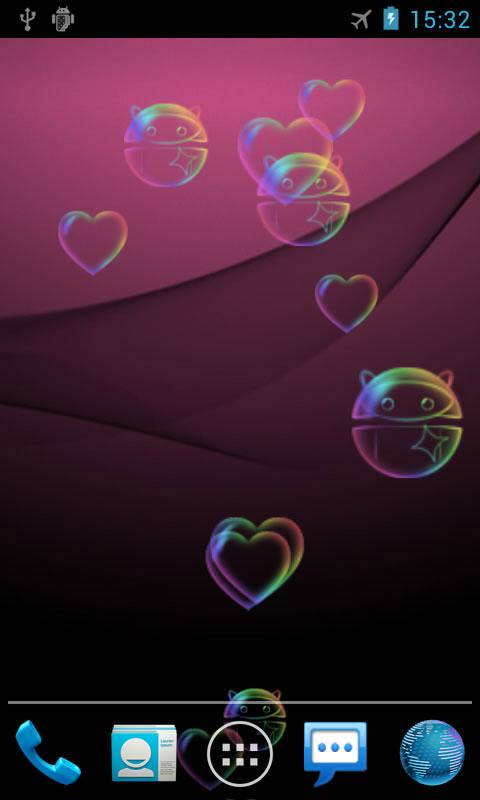 Bubble Pro Live Wallpaper- screenshot