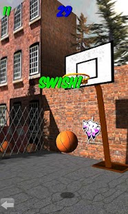 3D Basketball Shootout - screenshot thumbnail