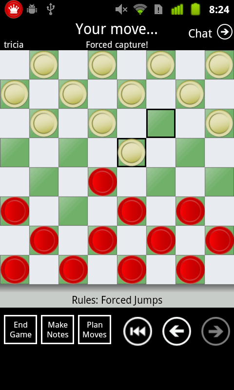 Checkers By Post Free- screenshot