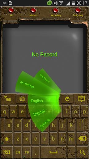 Go Keyboard Nuclear Fallout 2k