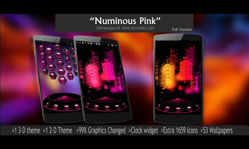 Next Launcher Theme Numinous P