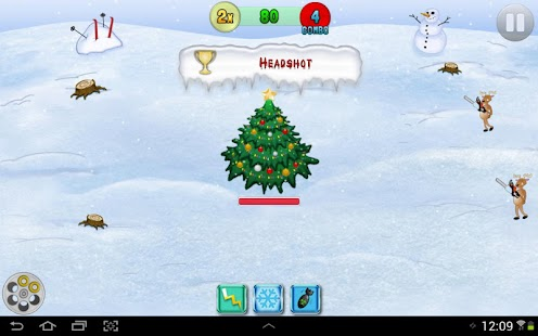 Christmas Reindeer Battle FREE- screenshot thumbnail