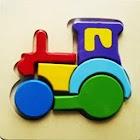 Wooden Jigsaw icon