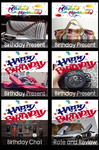 Birthday Cards Present