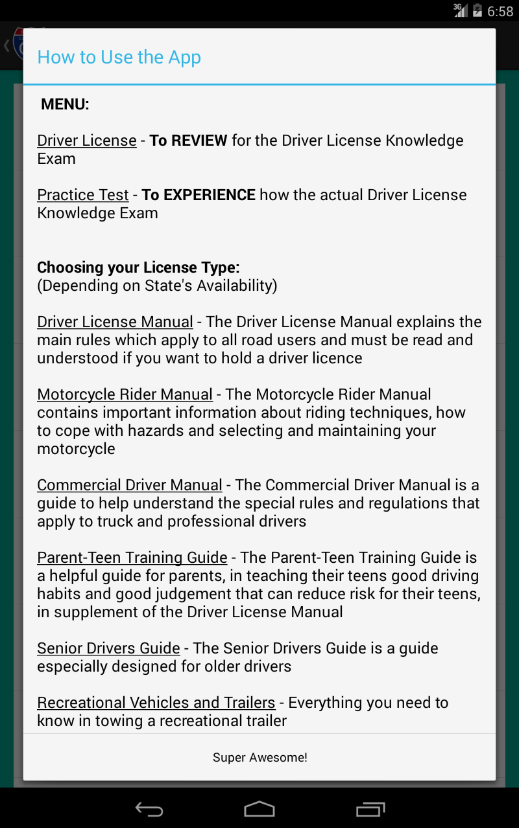 california commercial drivers license permit