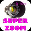 cámara súper zoom de lucy icon