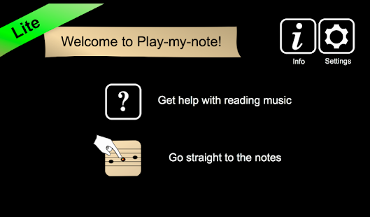 Play-my-note Lite - náhled
