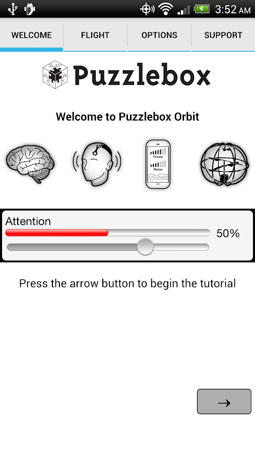 Puzzlebox Orbit - screenshot