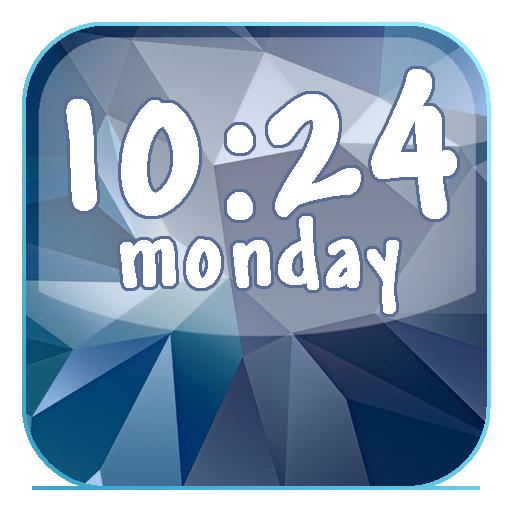 Galaxy S5數字時鐘 LOGO-APP點子